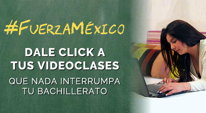 Dale click a tus videoclases